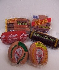 Santa's Sampler - 8 Viennas, Chili, Pickled & Plain Ring Bologna, Sliced Bologna & Summer Sausage
